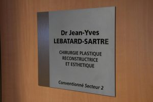Plaque Dr Jean-Yves Lebatard-Sartre