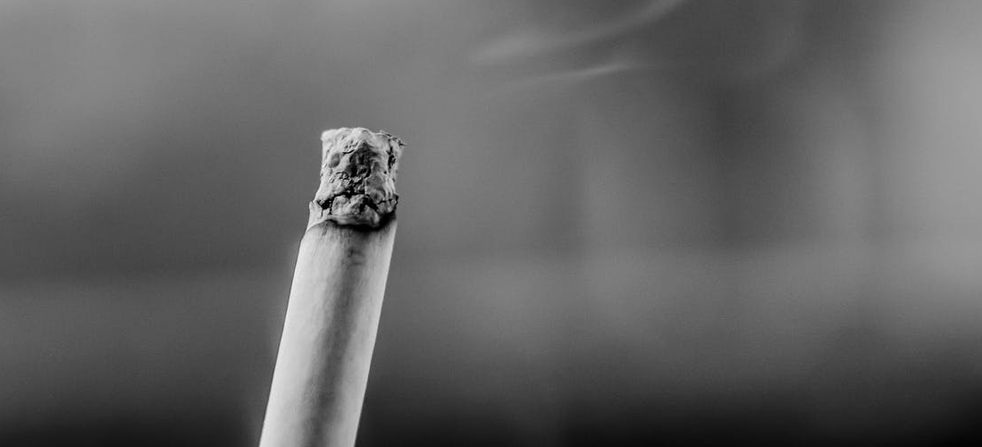 Photo d'une cigarette